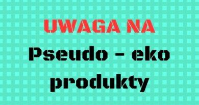 pseudo-eko produkty