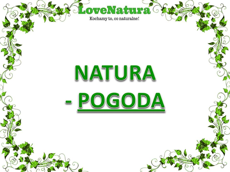 love natura natura pogoda