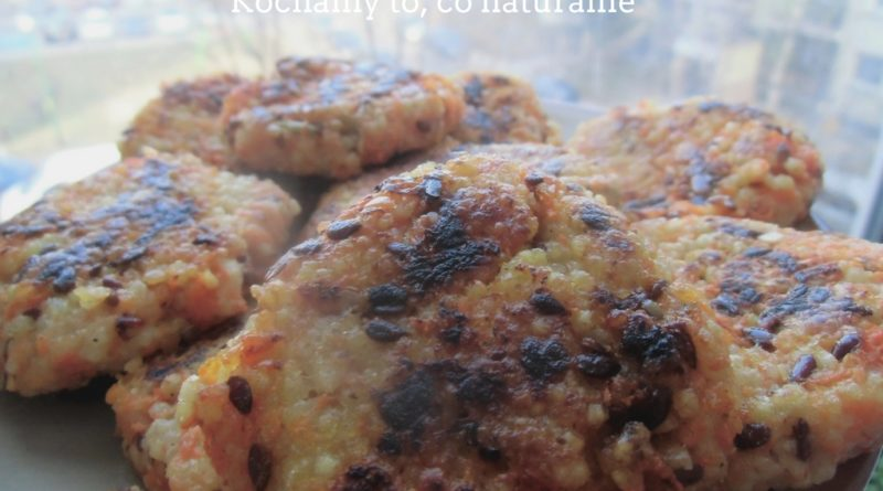 jaglano-marchewkowe kotleciki