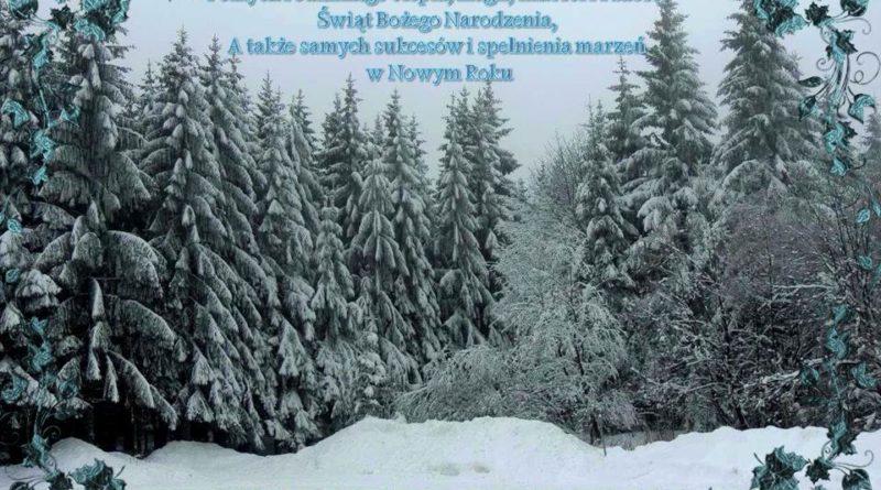 życzenia świąteczne love natura