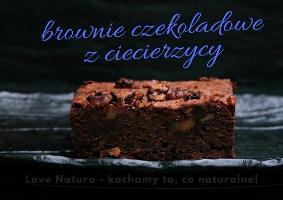 browne czekoladowe z ciecierzycy