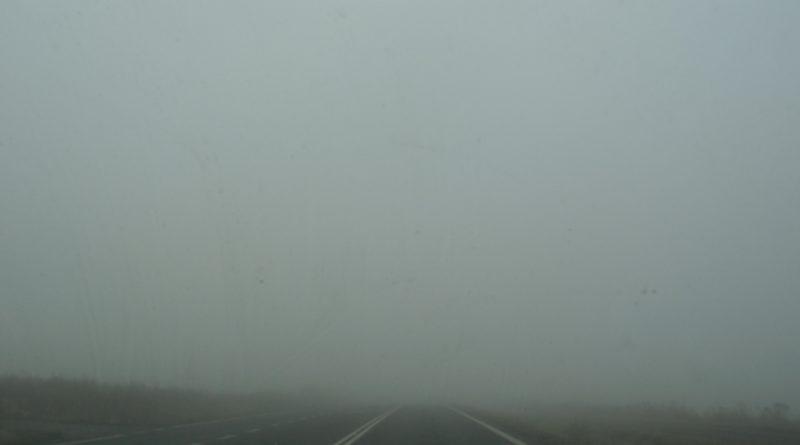 zgniły wyż mgła